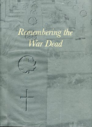 Remembering War Dead bookcover